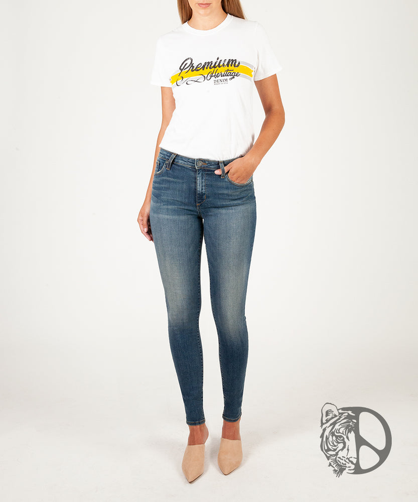 Premium Heritage Mia Skinny Inspired by Peace for Animals with Katie Cleary (Vintage Stockton Wash)