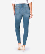 Mia High Rise Slim Fit Skinny, Exclusive (Chamomile Wash) Hover Image