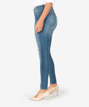 Mia High Rise Slim Fit Skinny, Exclusive (Chamomile Wash)-New-Kut from the Kloth