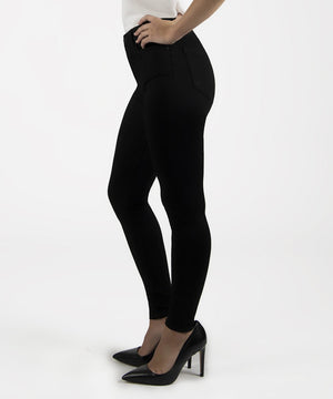 Mia High Waist Slim Fit Skinny, Petite (Black)-New-Kut from the Kloth