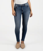 Mia High Rise Slim Fit Skinny (Visual Wash) Main Image