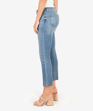 Reese Ankle Straight Leg, Exclusive (Medium Wash)
