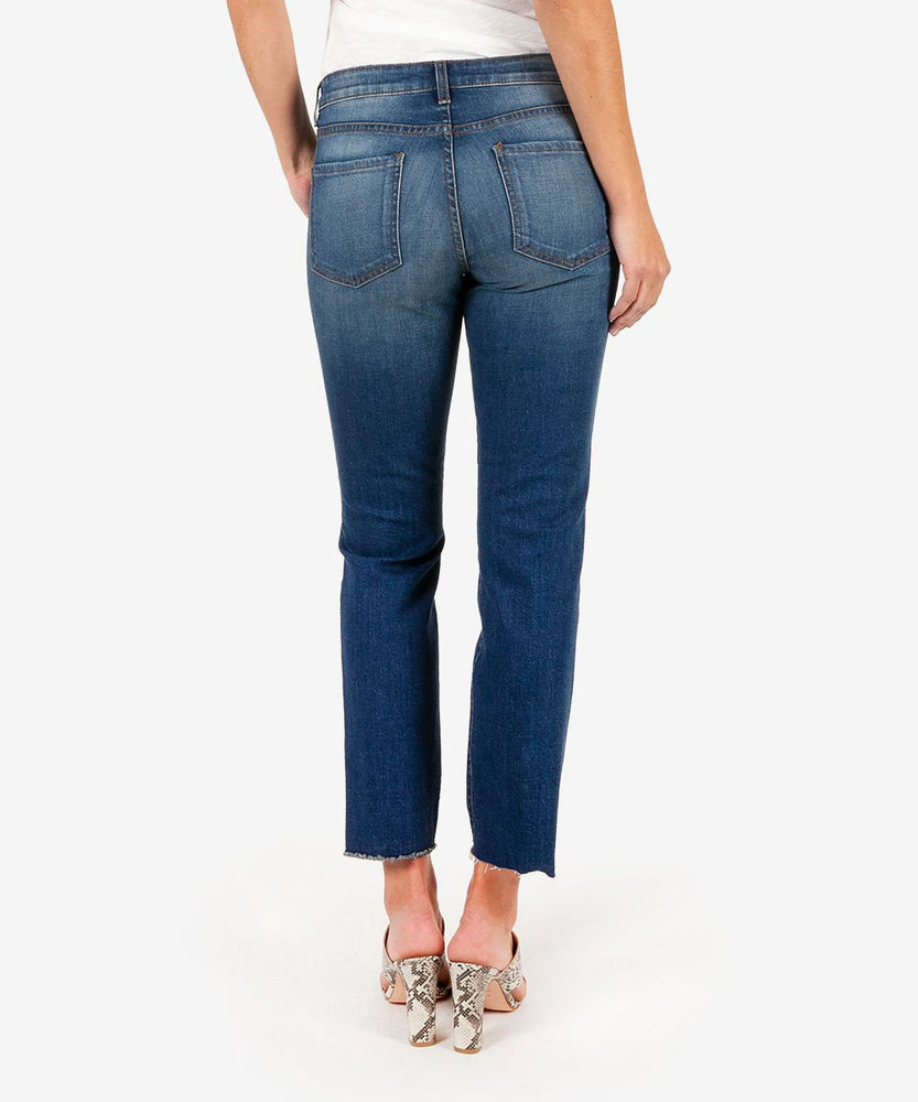 Reese Ankle Straight Leg, Exclusive (Davis Wash)