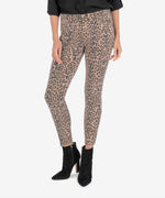 Donna Ankle Skinny (Animal Print) Main Image