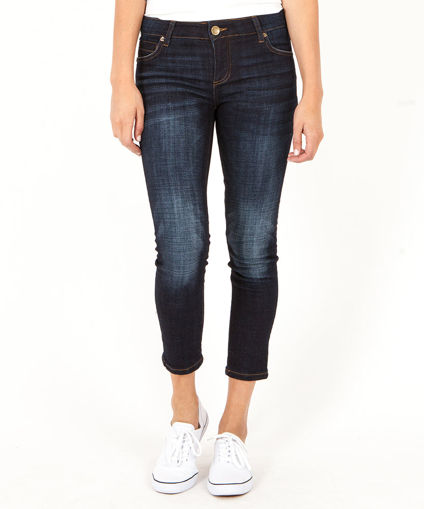 Catherine Ankle Straight Leg (Cultivated Wash)