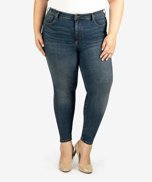 Diana Fab Ab Relaxed Fit Skinny, Plus (Strike Wash)-New-Kut from the Kloth