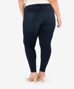 Diana High Rise Fab Ab Relaxed Skinny, Plus (Attitude Wash)