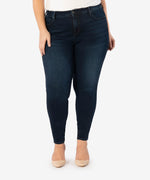 Diana High Rise Fab Ab Relaxed Skinny, Plus (Attitude Wash) Main Image