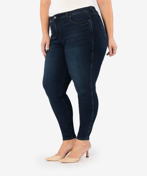 Diana High Rise Fab Ab Relaxed Skinny, Plus (Attitude Wash)-New-Kut from the Kloth