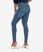 Mia High Rise Fab Ab Slim Fit Skinny (Eco-Friendly Cumulated Wash) Hover Image