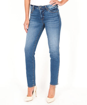 Diana Fab Ab Relaxed Skinny (Meditate Wash)-Denim-0-Meditate W/Medium Base Wash-Kut from the Kloth