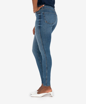 Mia High Rise Fab Ab Slim Fit Skinny (Eco-Friendly Cumulated Wash)-New-Kut from the Kloth