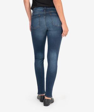 Diana High Rise Fab Ab Released Fit Skinny (Busy Wash)-New-Kut from the Kloth