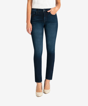 Diana Fab Ab High Rise Relaxed Fit Skinny (Attitude Wash)-New-Kut from the Kloth