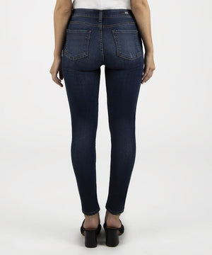 Diana Fab Ab Skinny, Petite (Busy Wash)-New-Kut from the Kloth