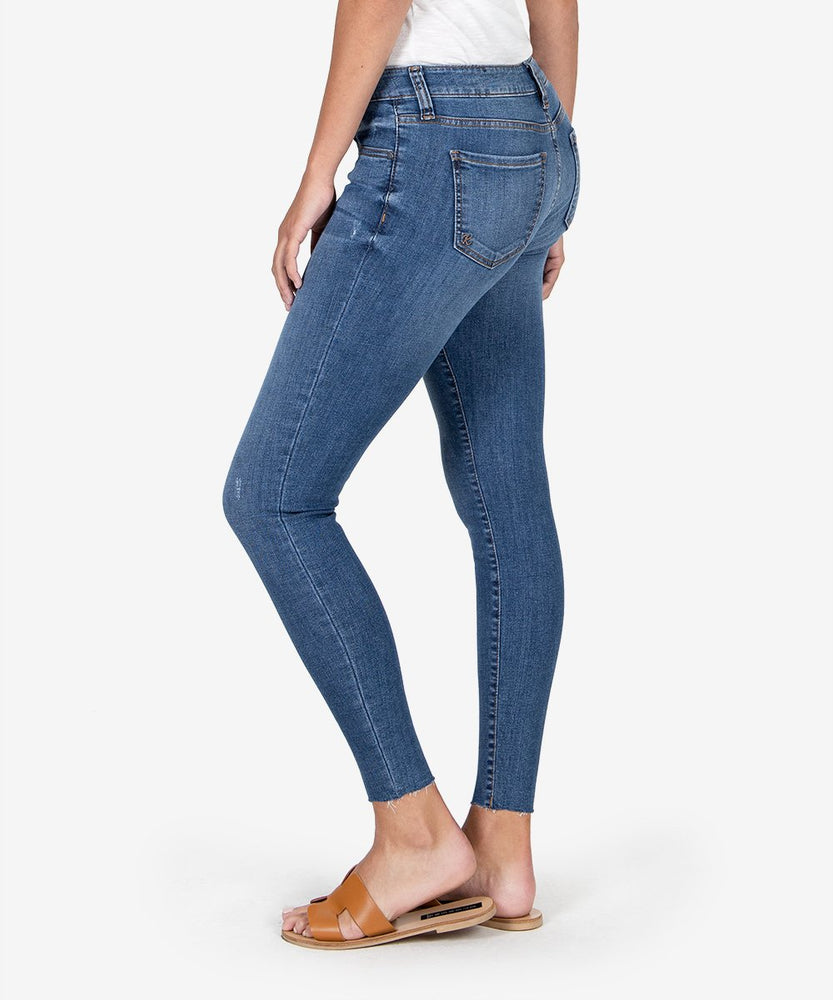 Connie Slim Fit Ankle Skinny (Searching Wash)-Kut from the Kloth