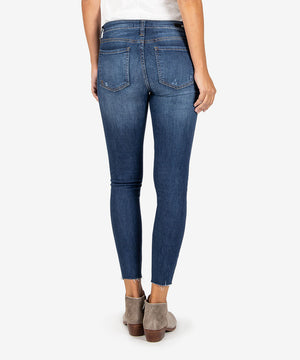 Connie Slim Fit Ankle Skinny (Expression Wash)-New-Kut from the Kloth