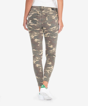 Connie Slim Fit Ankle Skinny (Olive)-New-Kut from the Kloth