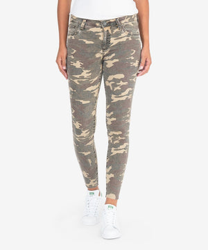 Connie Slim Fit Ankle Skinny (Olive)-New-00-Olive-Kut from the Kloth