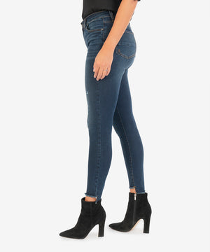 Connie High Rise Slim Fit Ankle Skinny (Budding Wash)