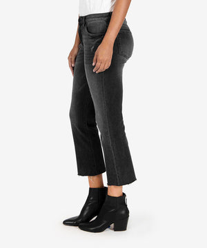 Kelsey High Rise Ankle Flare (Spiritually Wash)-New-Kut from the Kloth