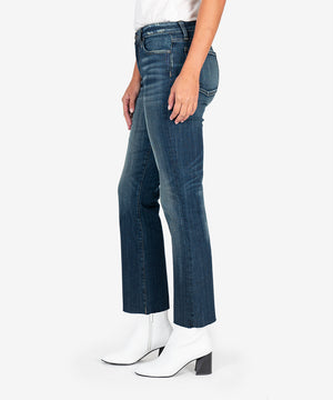 Kelsey High Rise Ankle Flare, Exclusive (Accord Wash)-New-Kut from the Kloth