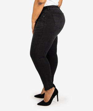 Donna High Rise Ankle Skinny, Plus (Travel Wash)-New-Kut from the Kloth