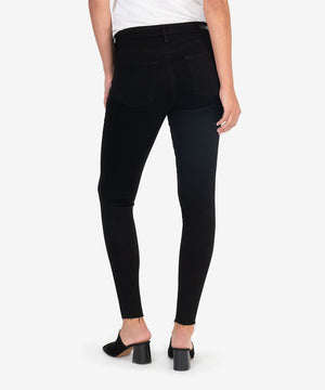 Donna High Rise Ankle Skinny (Black)-New-Kut from the Kloth