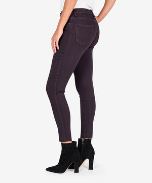 Donna High Rise Ankle Skinny (Eggplant)-New-Kut from the Kloth