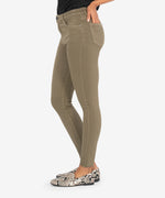 Donna High Rise Ankle Skinny (Olive) Hover Image