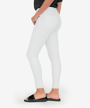 Donna High Rise Ankle Skinny (White)-New-Kut from the Kloth