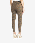 Donna High Rise Ankle Skinny, Petite (Mocha/Black) Hover Image