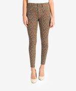 Donna High Rise Ankle Skinny (Mocha/Black) Main Image