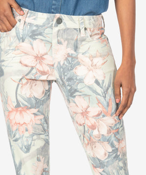 Donna High Rise Ankle Skinny (Tropical Print)-New]-Kut from the Kloth