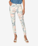 Donna High Rise Ankle Skinny (Tropical Print) Main Image