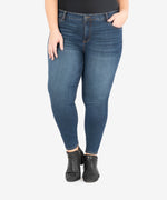 Donna High Rise Ankle Skinny, Plus (Civic Wash) Main Image