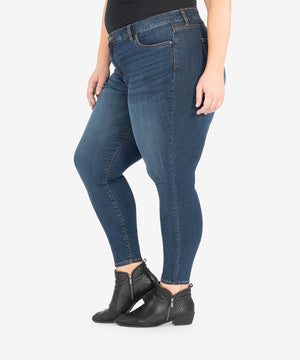 Donna High Rise Ankle Skinny, Plus (Civic Wash)-New-Kut from the Kloth