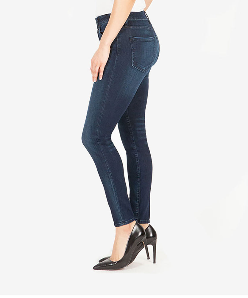 Donna High Rise Ankle Skinny (Formidable Wash)