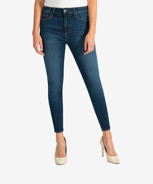 Donna High Rise Ankle Skinny (Civic Wash)