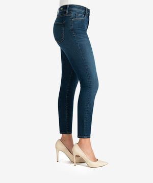 Donna High Rise Ankle Skinny (Civic Wash)-New-Kut from the Kloth