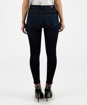 High Rise Donna Ankle Skinny Leg (Transformative Wash)-Denim-Kut From The Kloth