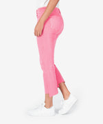 Kelsey High Rise Ankle Flare (Pink) Hover Image
