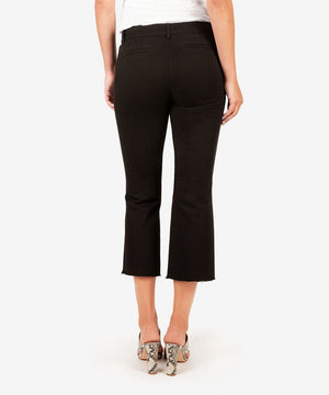 Stella Kick Flare Trouser (Black)-New-Kut from the Kloth