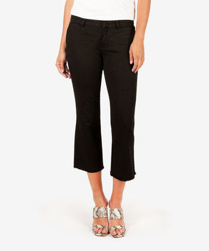 Stella Kick Flare Trouser (Black)-New-00-Black-Kut from the Kloth