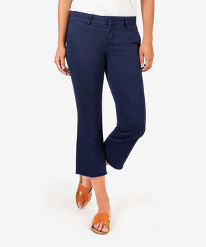 Stella Kick Flare Trouser (Navy)-Kut from the Kloth