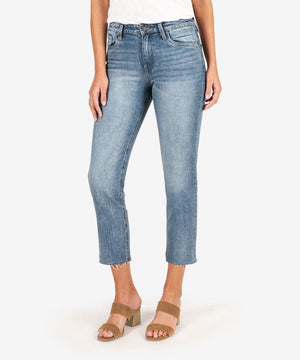 Rachael Mom Jean (Voltage Wash)-Kut from the Kloth