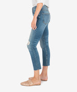 Rachael High Rise Mom Jean (Noticable Wash) Hover Image