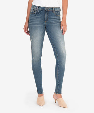 Mia Fab Ab Slim Fit Skinny (Other Wash)-New-00-Other W/Dk Stone Base Wash-Kut from the Kloth