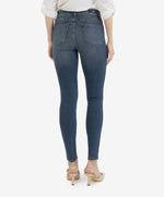 Mia High Rise Fab Ab Slim Fit Skinny, Petite (Above Wash - Eco Friendly) Hover Image