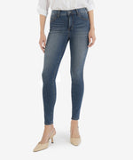 Mia High Rise Fab Ab Slim Fit Skinny, Petite (Above Wash - Eco Friendly) Main Image